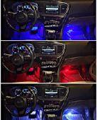 إضاءة ليد داخلي للسياره مع حساس صوت
