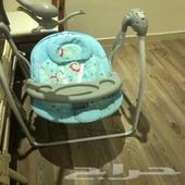 كرسي هزاز للاطفال نظيف جدا