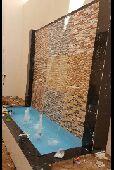 فن شلالات وتنسيق الحدائق 0553424135