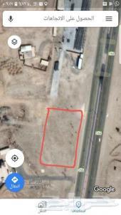 خميس مشيط أرض للإيجار(طريق الصناعية الجديدة )
