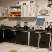 مطبخ مسعمل للبيع المستعجل بالاجهزة1500