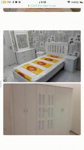 غرف نوم نفرين ومفرد وسريران تبدامن1600جده مكه