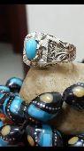 خاتم فيروز نيشابوري ايراني بصياغة حسام للبيع
