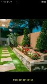 تنسيق حدائق وشلالات