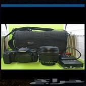 كاميرا كانون 70 دي مع عدستها stm 18-135