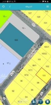 للبيع نص أرض بالعزيزية الخبر مخطط النورس 450م