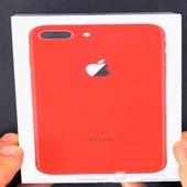 ايفون 8بلس احمر 64 قيقا الجوال جديد مو مستعمل