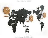 ساعة جدارية ثلاثية الأبعاد ديكور