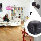 كاميرات مراقبه صغيره وكبيره سنترالات شبكات
