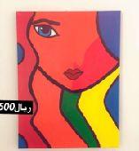 لوحات جداريه فن التجريدي
