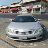 للبيع سياره كورولا 2013