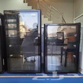 ثلاجات عرض ميني باب واحد زجاج أحجام مختلفة