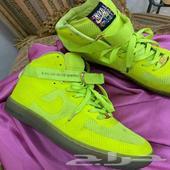 حذاء نايك مشي( Nike 45 )وكره تمارين يوجا