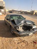الرياض - سياره فورد مصدومه