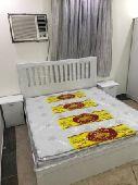 غرف نوم 6 قطع  جديدة ألوان مختلفه