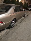 للبيع مرسيدس موديل 2002 320 S