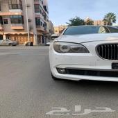 BMW 750. مديل 2012