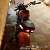 دراجه كهرباء مايحتاج له تصريح او لوحه