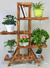 ديكورات خشب لنباتات الزينة