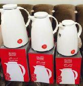 طقم ثلاجات شاي وقهوة من ثلاثة قطع ب 100 ريال