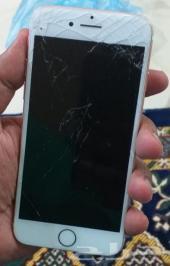ايفون 7 فيس تايم شاشته مكسوره