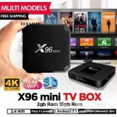 رسيفر x96 mini مع اشتراك IPTV