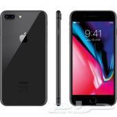 ايفون 8 بلس 64 جيجا لون أسود شبه الجديد