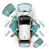 زجاج بورش_مرسيدس_BMWوجميع انواع السيارات