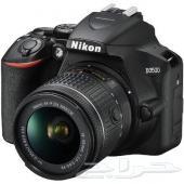 كاميرا احترافية ماركة نيكون D3500 للبيع