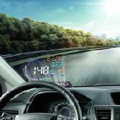 بروجكتر للسيارة لقراءة السرعة والحرارة...