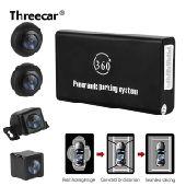 جهاز الرؤية الشاملة 360 مع اربع كاميرات تسجيل