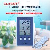 مقياس لدرجة الحرارة والرطوبة
