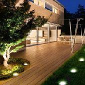 إضاءة  الحدائق بالطاقة الشمسية