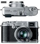 كاميرا فوجي فيلم x100  فضية Fujifilm camera