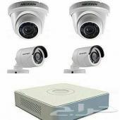 كاميرات مراقبة وأجهزة أنظمة أمنية