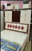 غرفه نوم جديد مع التوصيل وتركيب داخل الدمام
