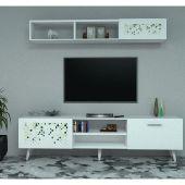 طاولة تلفزيون SHTV33R ابيض