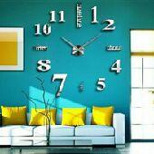 لعشاق فن الديكور ساعات حائط ثلاثية الأبعاد 3D