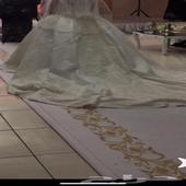 فستان زواج لبسه واحده الدمام ب 3000