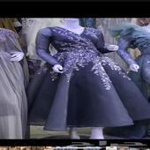 فستان تفصيل انثوي جدا و فخم