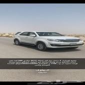للبيع فورشنر 2012 يحمل لوحه مميزه س ع د