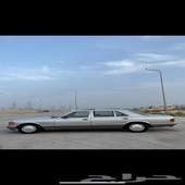 مرسيدس 89 فل كامل 560SEL ماشيه 220 السيارة نظيفه حييل كامل