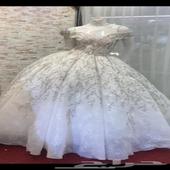 فستان عروسه لبس مره واحده