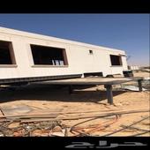 للبيع كرفان شرايح بطول 16 متر مع راس فولفو