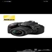كاميرا نيكون D5300 مع ملحقاتها