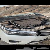 كورلا 2016 مصدوم اول حادث