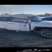 سيارة اف جي 2013 مصدوم