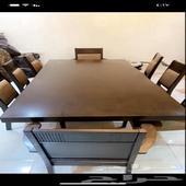 طاولة طعام 8كراسي