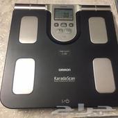 ميزان قياس نسبة الدهون