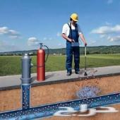 شركة كشف تسربات المياه حل مشكلة ارتفاع الفاتو